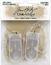 Tim Holtz - Idea Ology -  Tiny Lights - Christmas 2020 - 2 Sets