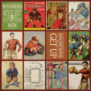 Authentique Paper - All-Star - Football Images
