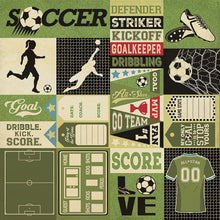Authentique Paper - All-Star - Soccer Sentiments