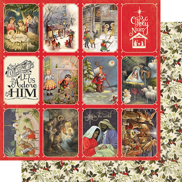 Authentique Paper - Christmas Greeting - Four