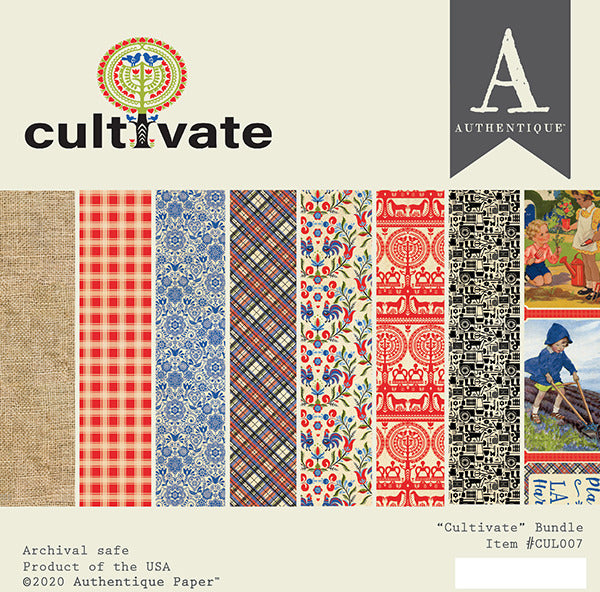Authentique Paper - 6x6 Paper Pack - Cultivate