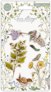Craft Consortium - Clear Stamp - Wildflower Meadow - Wild Flowers