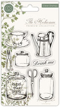 Craft Consortium - Clear Stamp, The Herbarium - Utensils