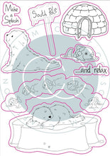 Craft Consortium - Clear Stamp, Polar Playtime - Make a Splash