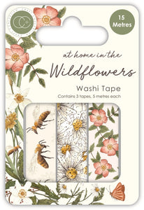 Craft Consortium - Washi Tape, At Home in the Wildflowers