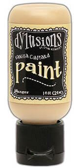 Dylusions Paint 1oz - Vanilla Custard