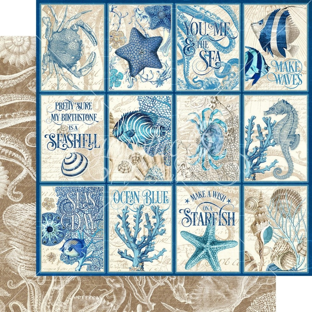 Graphic 45 - Ocean Blue Collection -  Cozumel 4502011