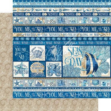 Graphic 45 - Ocean Blue Collection - Corfu 4502013