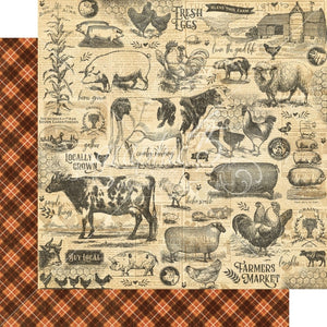 Graphic 45 - Farmhouse Collection - Gather Together 4502054