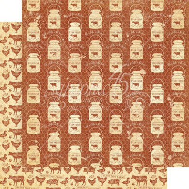 Graphic 45 - Farmhouse Collection - Country Morning 4502057