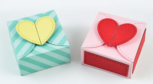 Lawn Fawn - Heart Treat Box - DIE