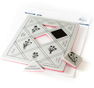 PinkFresh Studio - Pop-Out Diamonds Stamp