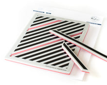 PinkFresh Studio - Pop-Out Diagonal Stripes Stamp