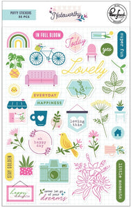 PinkFresh Studio - Noteworthy - Puffy Stickers