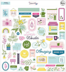 PinkFresh Studio - Noteworthy - Ephemera