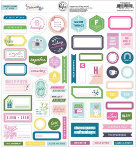 PinkFresh Studio - Noteworthy - Cardstock Stickers