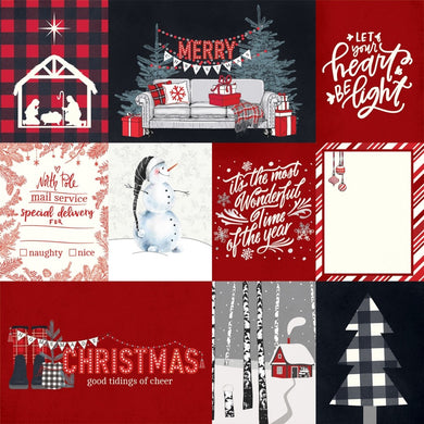 Photo Play Paper - Christmas Cheer - Let Your Heart Be Light