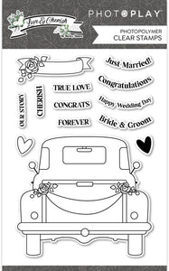Photo Play Stamp & Die Set - Love & Cherish