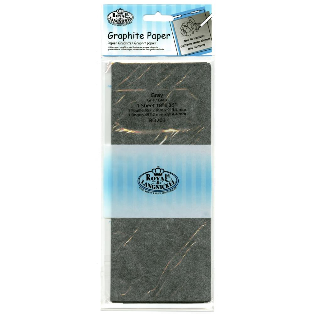 Royal Brush - Grey Transfer Paper 1 Sheet
