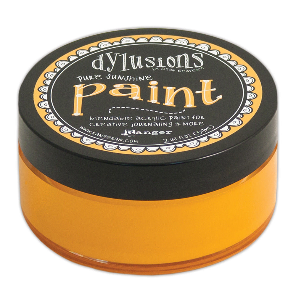 Dylusions Paints 2oz Pots - Pure Sunshine