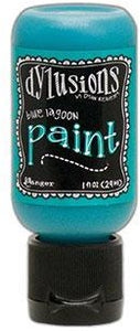 Dylusions Paint 1oz - Blue Lagoon