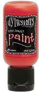 Dylusions Paint 1oz - Fiery Sunset