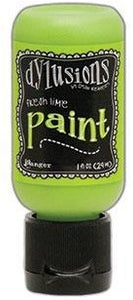 Dylusions Paint 1oz - Fresh Lime