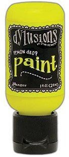 Dylusions Paint 1oz - Lemon Drop