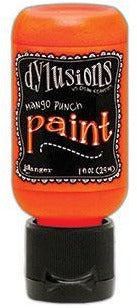 Dylusions Paint 1oz - Mango Punch