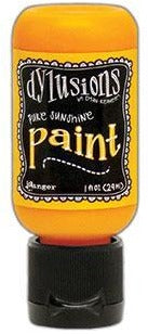 Dylusions Paint 1oz - Pure Sunshine