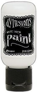 Dylusions Paint 1oz - White Linen