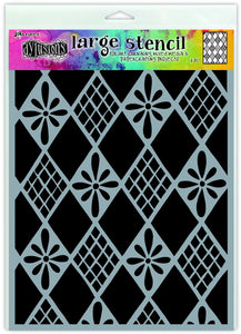 Dylusions Stencil - Diamonds Are Forever - Large