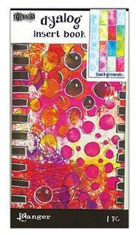 Dylusions Dyalog Insert Book - Backgrounds #2