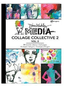 Dina Wakley Media Collage Collective 2, Vol. 2