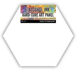 Tim Holtz- Alcohol Ink Hard-Core Art Panel 3 pcs - TAC69737