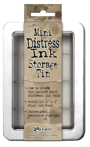 Tim Holtz - MINI Distress Ink Pad Storage Tin