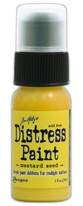 Distress Paint - Mustard Seed 1 Oz.