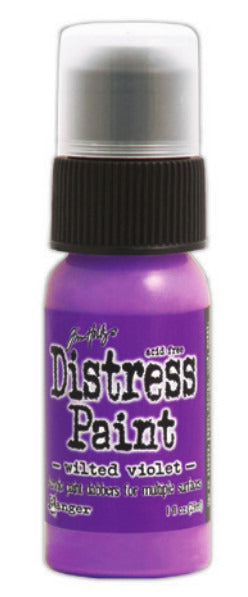 Distress Paint - Wilted Violet 1 Oz.