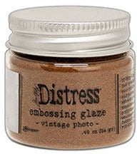 Distress Embossing Glaze - Vintage Photo