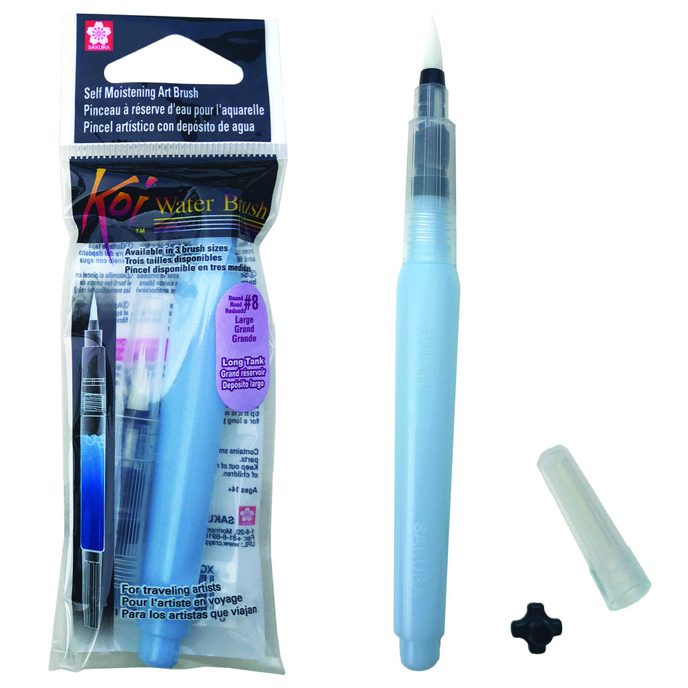 Koi Water Brush, 9ml Tank - Large Brush