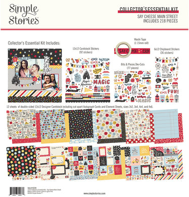 Simple Stories  - 12x12 Collector's Essential Kit - Say Cheese Main Street