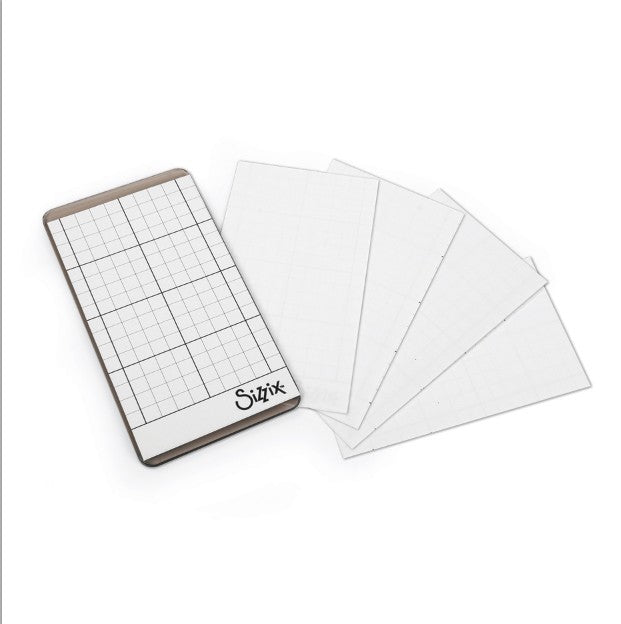Sizzix Sticky Grid Sheets - 5 per package