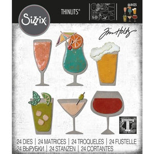 Tim Holtz Thinlit - Happy Hour