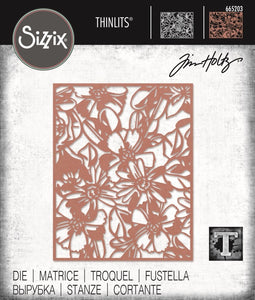 Tim Holtz Thinlit - Flowery