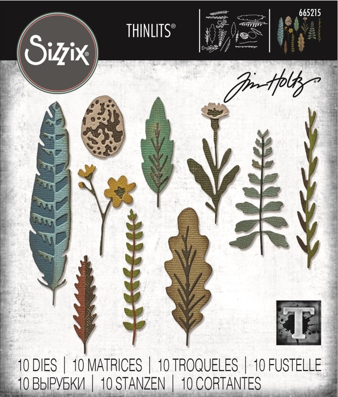 Tim Holtz Thinlit - Funky Nature