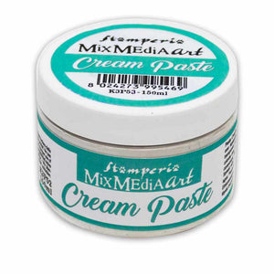 Stamperia - Cream Paste White 150ml