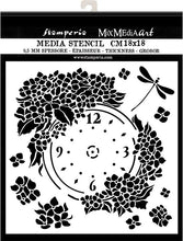 Stamperia - Mix Media Art - Hortensia Clock
