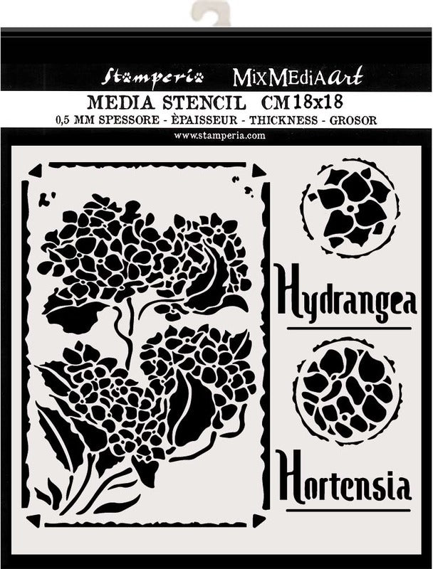 Stamperia - Mix Media Art - Hortensia Frames