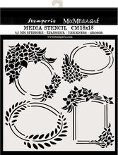 Stamperia - Mix Media Art - Hortensia Labels