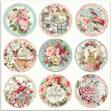 Stamperia - 12x12 Paper - Pink Christmas - Rounds